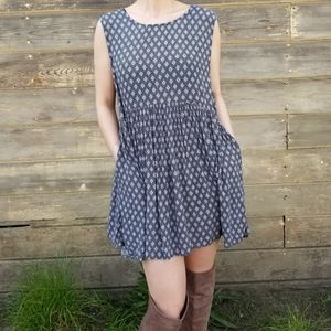 Urban Outfitters | diamond pattern dress